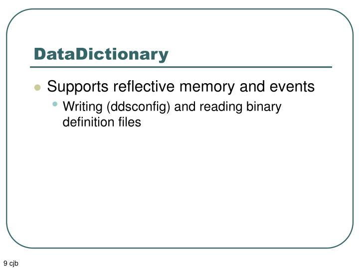 DataDictionary