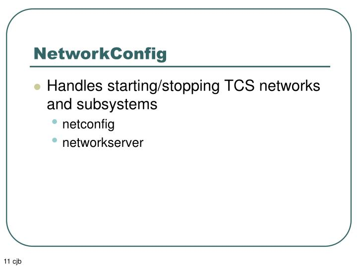 NetworkConfig