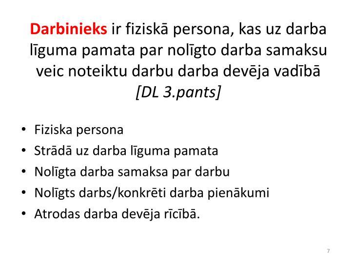 Darbinieks