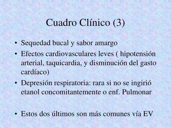 Cuadro Clínico (3)