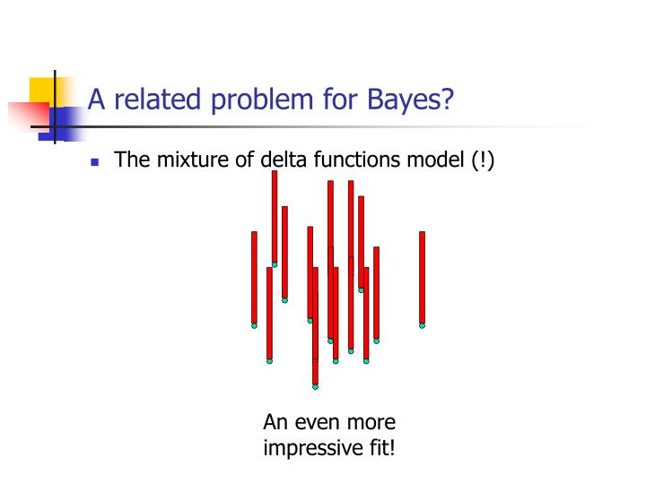 A related problem for Bayes?