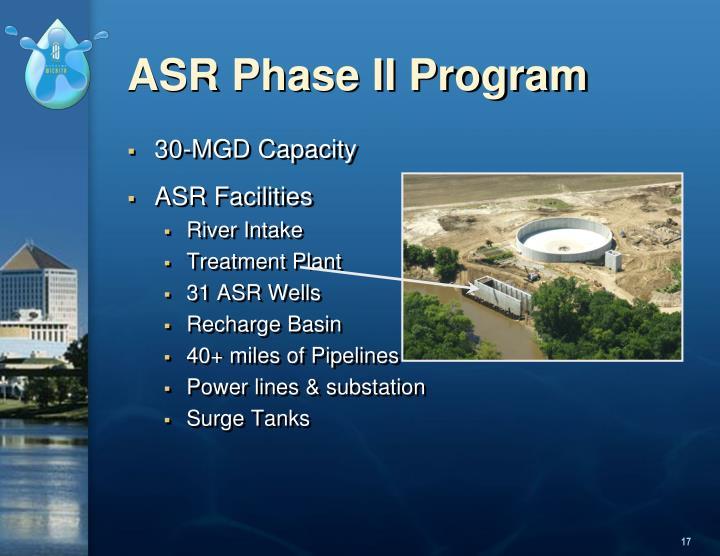 ASR Phase II Program