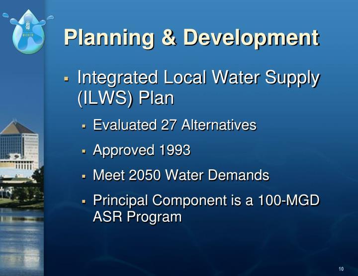 Planning & Development
