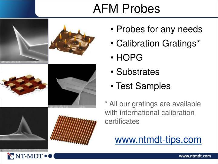 AFM Probes