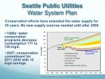 seattle public utilities water system plan