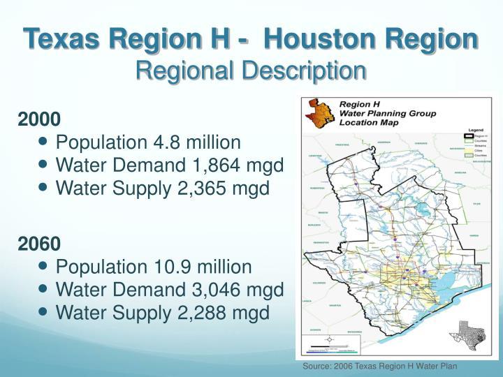 Texas Region H -  Houston Region