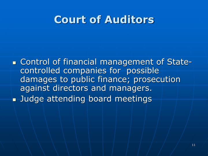 Court of Auditors