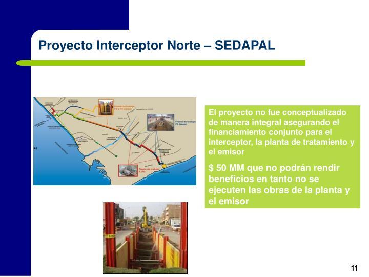 Proyecto Interceptor Norte – SEDAPAL