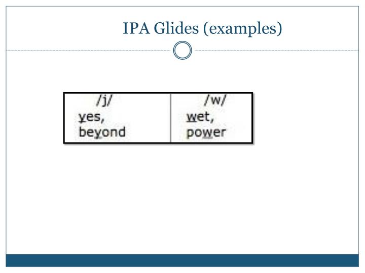 IPA Glides (