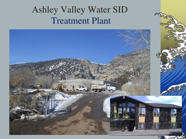 Ashley Valley Water SID