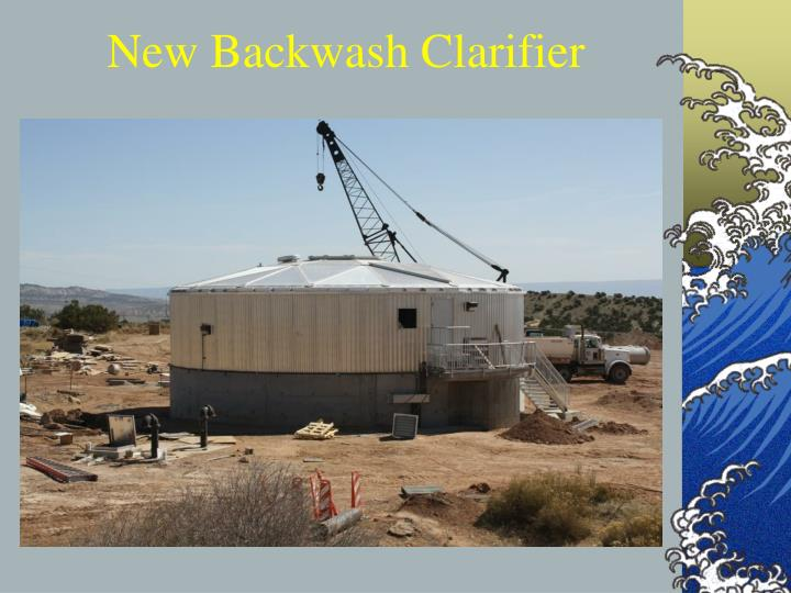 New Backwash Clarifier