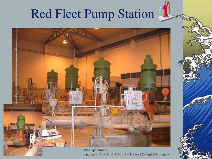 Red Fleet Pump Station