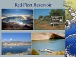 red fleet reservoir
