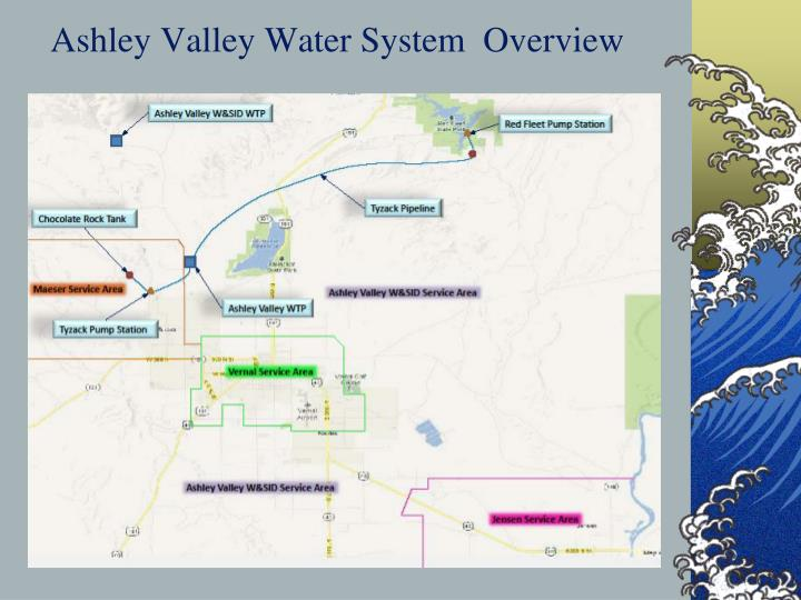 Ashley Valley Water System  Overview