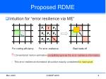 proposed rdme