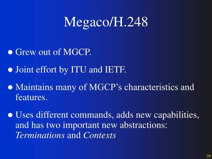 Megaco/H.248