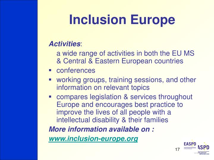 Inclusion Europe