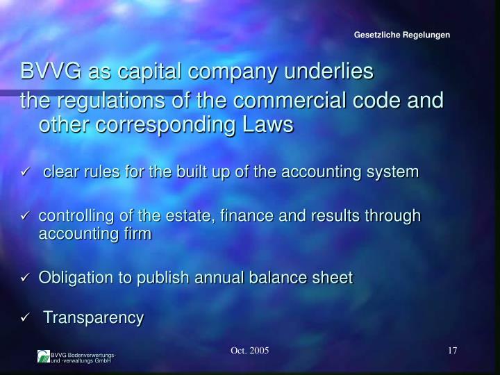 Gesetzliche Regelungen
