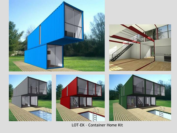 LOT-EK – Container Home Kit