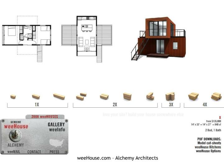 weeHouse.com – Alchemy Architects