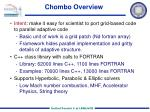 chombo overview