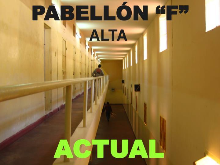 """PABELLÓN """"F"""""""