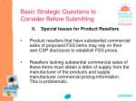 basic strategic questions to consider before submitting7