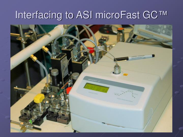 Interfacing to ASI