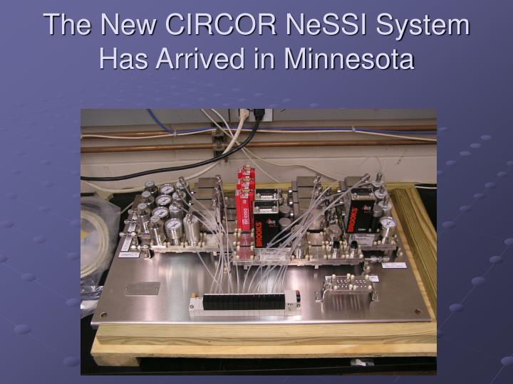 The New CIRCOR NeSSI System Has Arrived in Minnesota