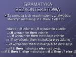 gramatyka bezkontekstowa13