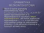 gramatyka bezkontekstowa25