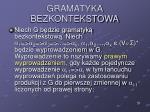 gramatyka bezkontekstowa26