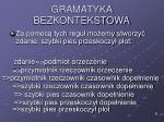 gramatyka bezkontekstowa4
