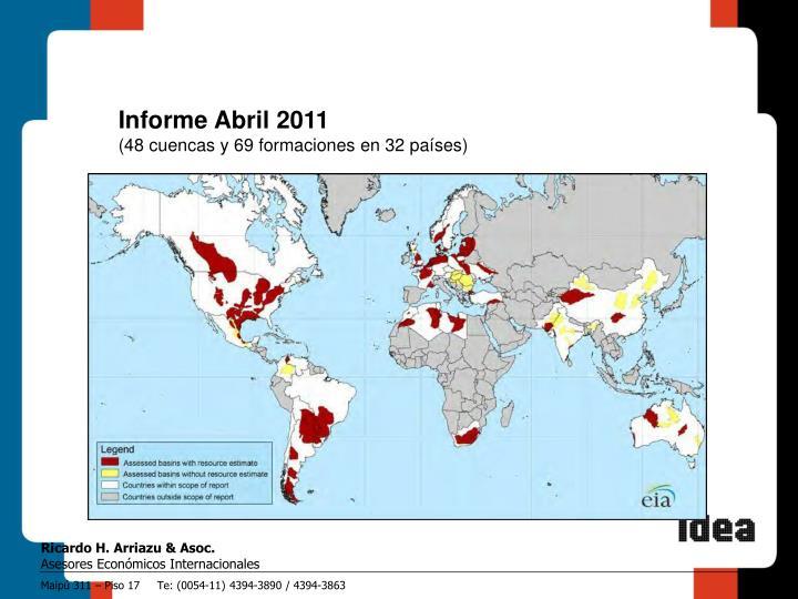 Informe Abril 2011
