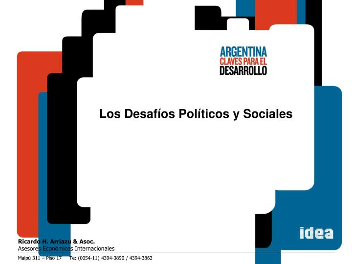 Los Desafíos Políticos y Sociales