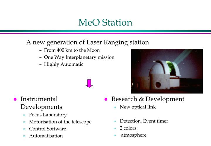 MeO Station
