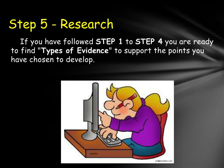 Step 5 - Research