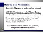 motoring onto monetization2