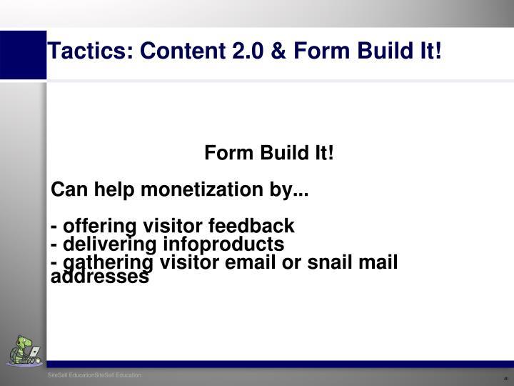 Form Build It!