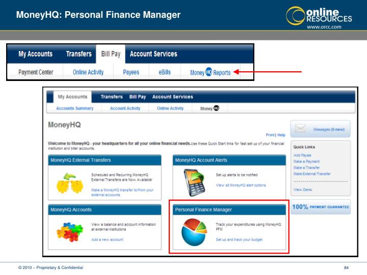 MoneyHQ: Personal Finance Manager