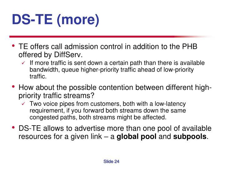 DS-TE (more)