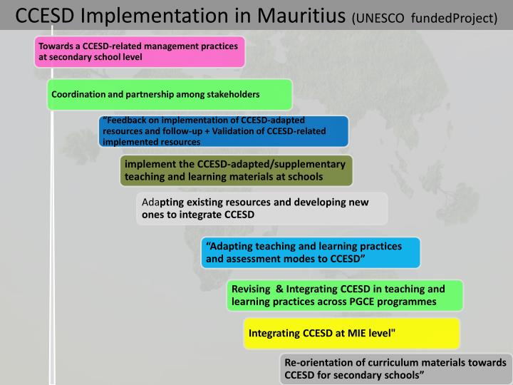 CCESD Implementation in Mauritius