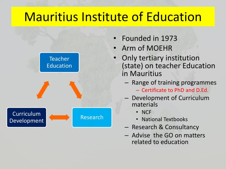 Mauritius institute of education