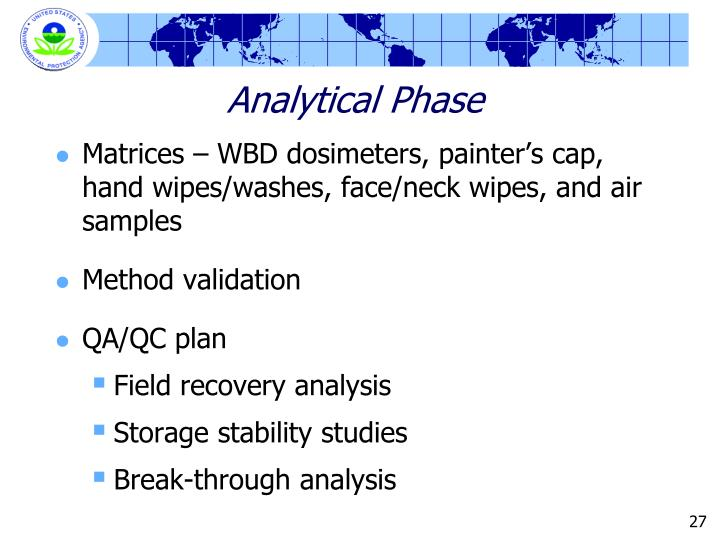 Analytical Phase
