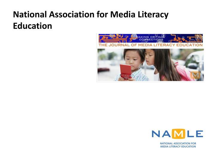 National Association for Media Literacy Education