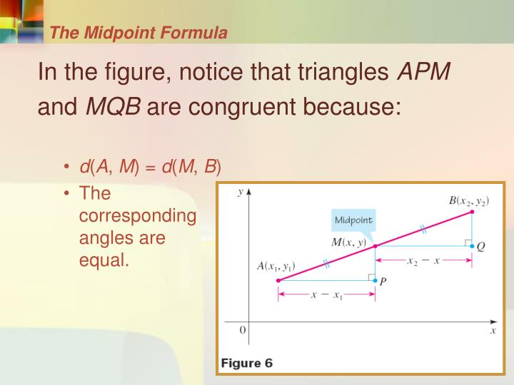 The Midpoint Formula