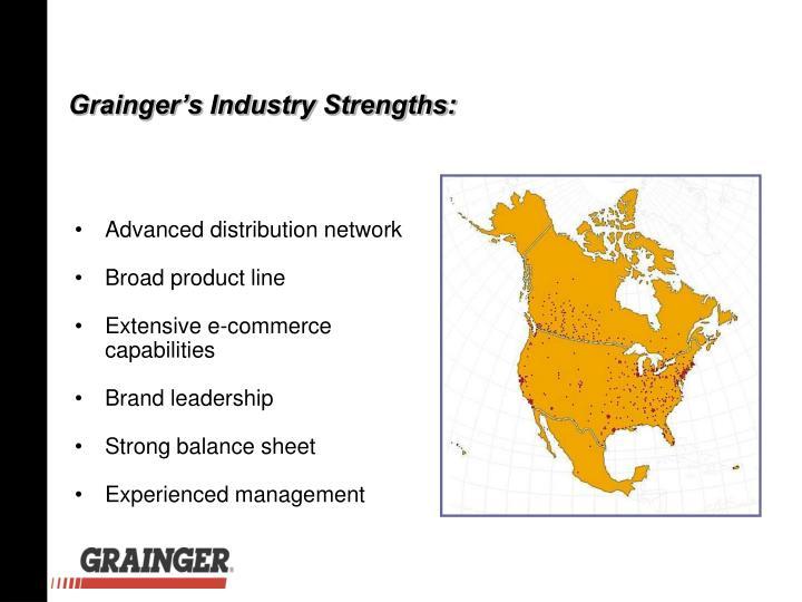 Grainger's Industry Strengths: