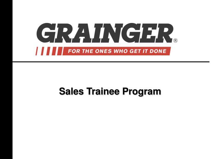 Sales Trainee Program