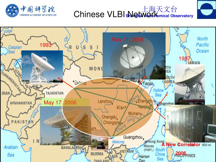 Chinese VLBI Network