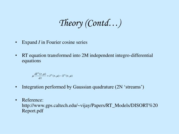 Theory (Contd…)